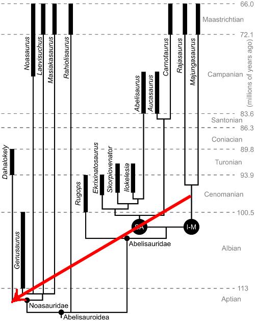 Final Phylogeny of Dahalokely