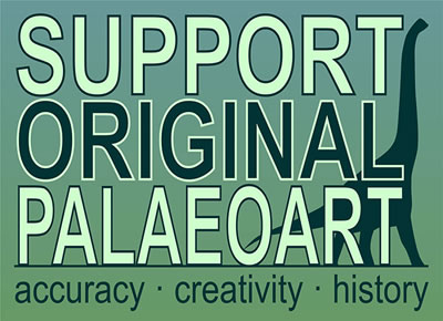 Support Original Palaeoart: accuracy, creativity, history